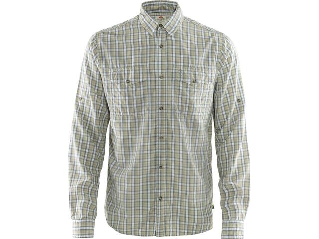 Fjällräven Abisko Cool LS Shirt Men shark grey